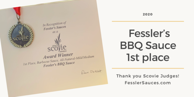 Fessler's Sauces Wins 3 Scovie Awards