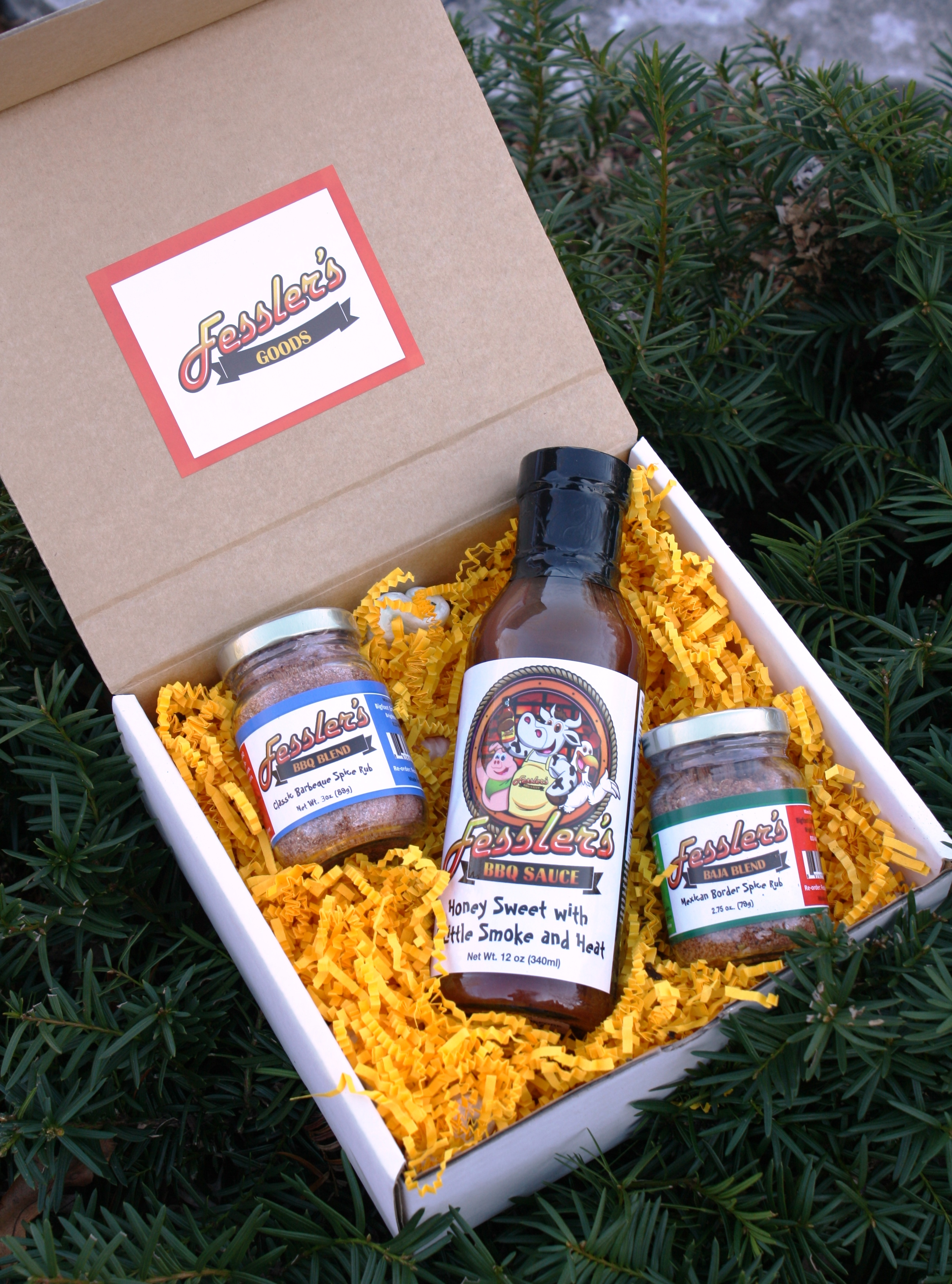 Barbecue Sauce Spice Gift Box