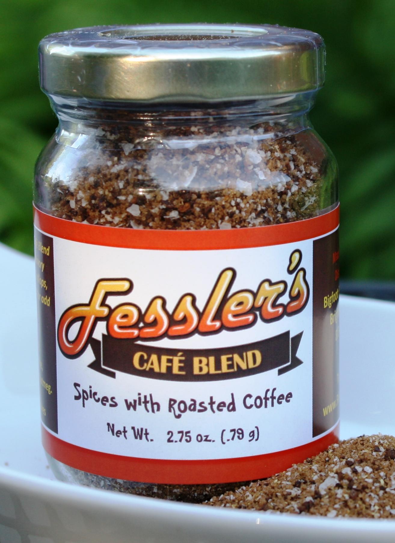 Cafe Blend Spice Rub