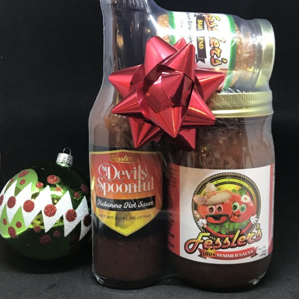 Hot Sauce Gift Set-Fessler's