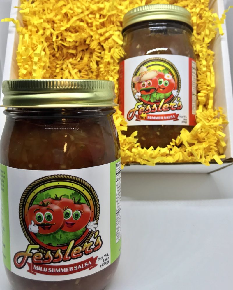 You Pick 2 -Salsa Gift Box