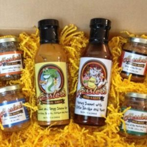 Sauces-Rubs Gift Box