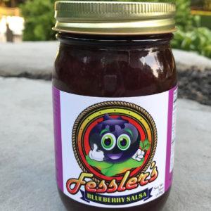 Blueberry Salsa-Fessler's Limited Edition